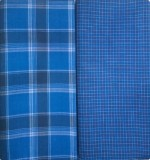 Bigshop Online Checkered Dark Blue Lungi