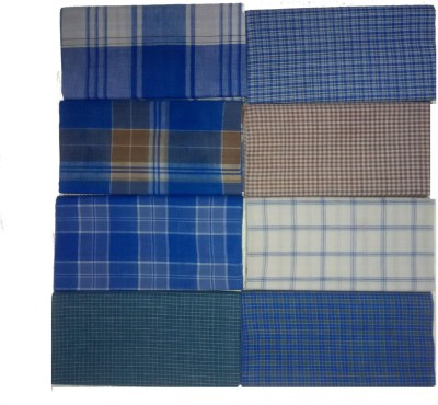 Irfan Checkered Open Lungi