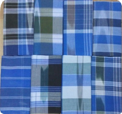 909gold Checkered Open Lungi