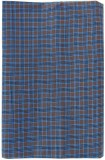 Kmltail Checkered Blue Lungi