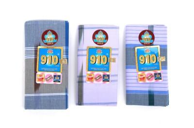 910 Brand Striped Unclosed Lungi