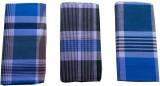 Kmltail Checkered Blue, White Lungi