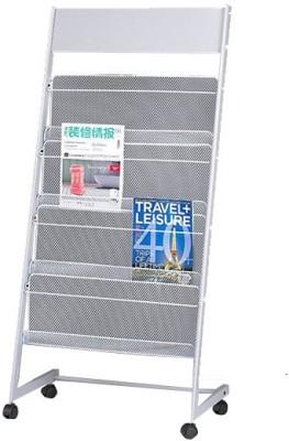 Chrome 9186 Floor Standing Magazine Holder