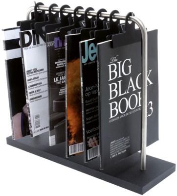 Present Time Rack Floor Standing Magazine Holder
