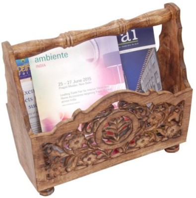 Onlineshoppee AFR1028 Table Top Magazine Holder