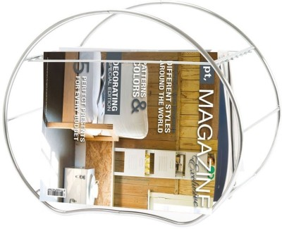 PT Magazine Rack Round Floor Standing Magazine Holder