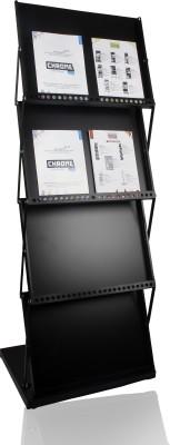 Chrome 714 Floor Standing Magazine Holder