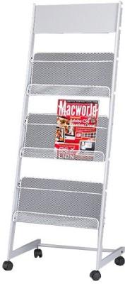 Chrome 9184 Floor Standing Magazine Holder