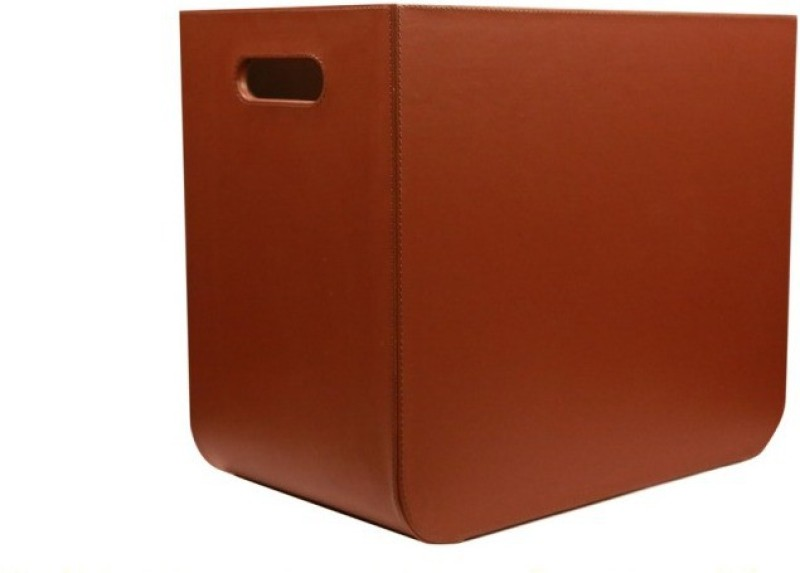 Mddesign Floor Standing Magazine Holder(Brown, Polypropylene)