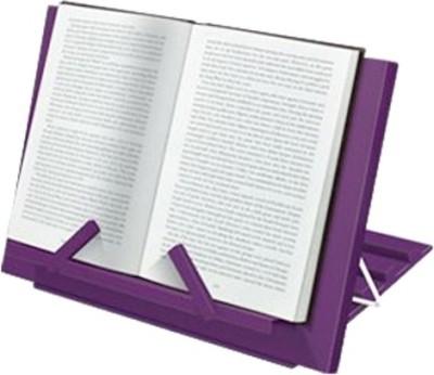 Chitra Table Top Magazine Holder(Purple, Plastic)
