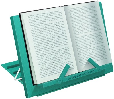 Chitra Table Top Magazine Holder(Green, Plastic)