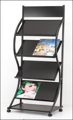 Jinhao Super Durable JH-1328 Floor Standing Magazine Holder