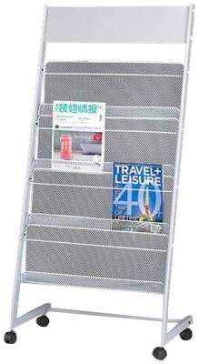 Chrome 9185 Floor Standing Magazine Holder