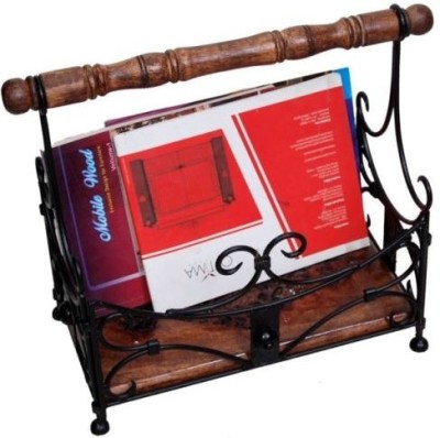 Onlineshoppee Handwork Magazine Holder Table Top Magazine Holder