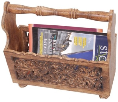 Onlineshoppee Table Top Magazine Holder