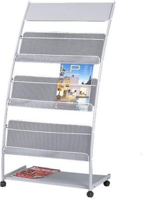 Chrome 9187 Floor Standing Magazine Holder