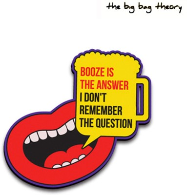 The Big Bag Theory Booze Is The Answer Fridge Magnet