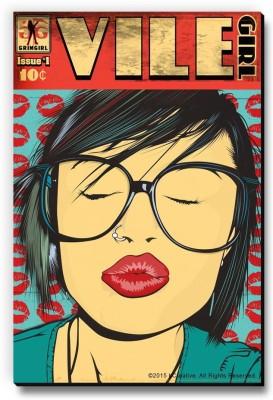 bCreative Vile Girl Fridge Magnet, Door Magnet