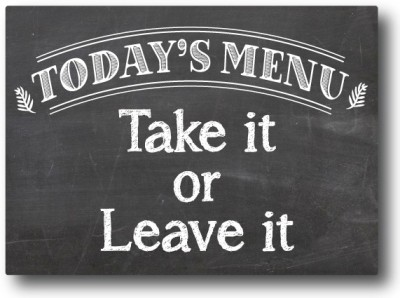 Nourish Todays Menu Fridge Magnet(Pack of 1, Multicolor)