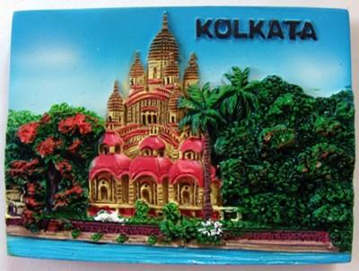 Temple Trees Dakshineswar Kali Temple, Kolkata Fridge Magnet