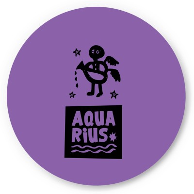 PosterGuy Aquarius , Zodiac Sign Gifts For Friends & Family Fridge Magnet