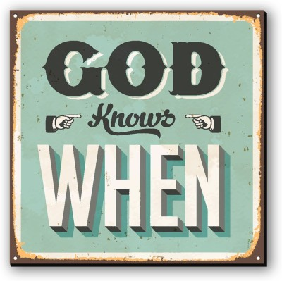 Seven Rays God knows when Fridge Magnet