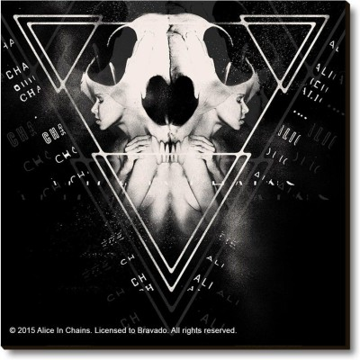 Bravado Alice In Chains Cover Fridge Magnet, Door Magnet