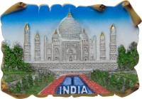 Temple Trees Tajmahal Fridge Magnet(Pack of 1, Multicolor)
