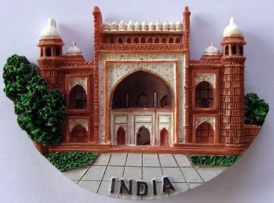 Temple Trees Taj Mahal Entrance Fridge Magnet