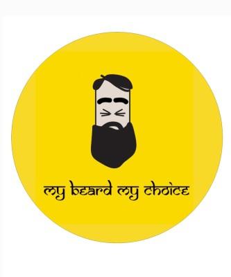 Fashion Fakir My beard My choice Fridge Magnet