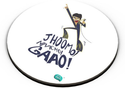 PosterGuy Jhoomo Naacho Gaao | Mithun Da Inspired Quirky Fridge Magnet