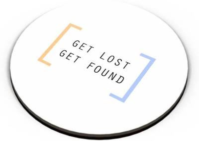 PosterGuy Get Lost, Get Found Fridge Magnet
