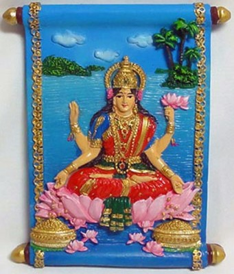 Temple Trees Mahalakshmi Fridge Magnet