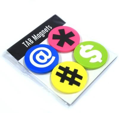 Random in Tandem Tablets Multipurpose Office Magnets