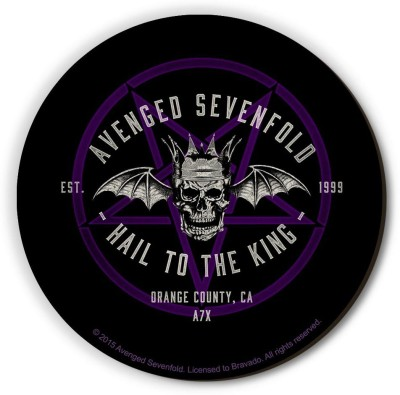 Bravado Avenged SevenFold Hail To The King CA Fridge Magnet, Door Magnet