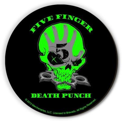 Bravado Five Finger Death Punch Skull Fridge Magnet, Door Magnet