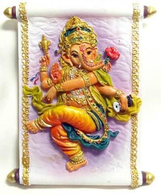 Temple Trees Dancing Ganesha Fridge Magnet