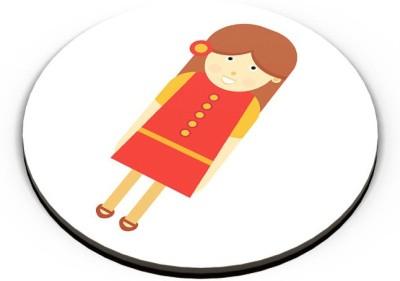 PosterGuy School Girl Cartoon Character Fridge Magnet