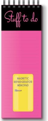 Nourish Regular Memo Pad(Magnetic Memo Pad, Pink)