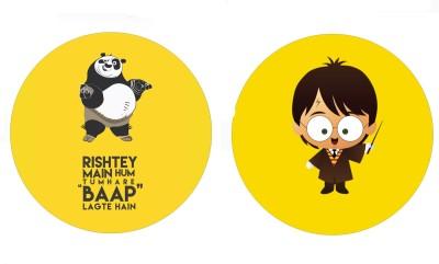 Fashion Fakir Cute Kung Fu panda & harry Potter Fridge Magnet