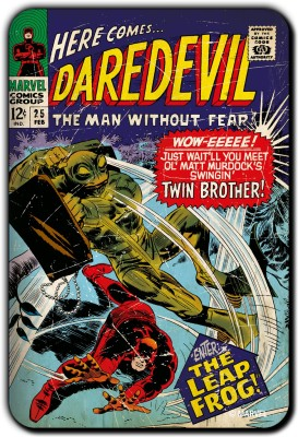 Marvel Daredevil leap frog pack of 1 (Officially Licensed) Fridge Magnet