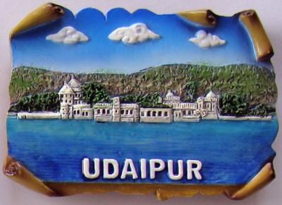 Temple Trees Udaipur Fridge Magnet