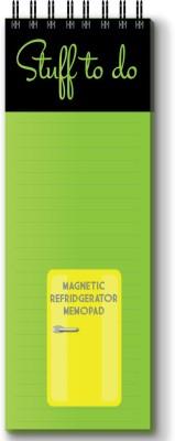 Nourish Regular Memo Pad(Magnetic Memo Pad, Green)