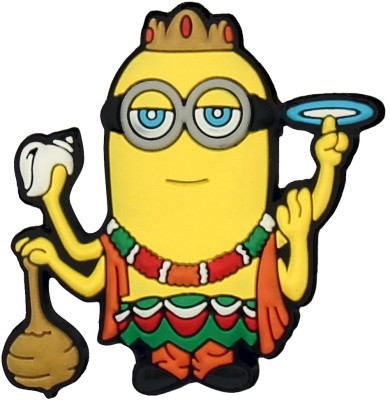 Kingdom of Calm Vishnu Calminion Fridge Magnet, Door Magnet, Multipurpose Office Magnets