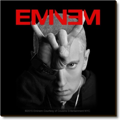 Bravado Eminem Horns Fridge Magnet, Door Magnet