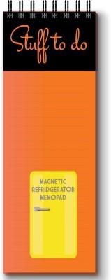 Nourish Magnetic Memo Pad Regular Memo Pad Spiral Bound