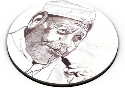 PosterGuy Ustad Bismillah Khan Painting Fridge Magnet