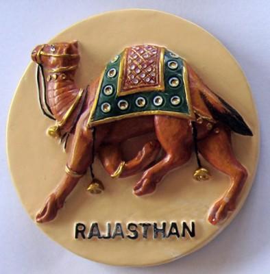 Temple Trees Rajasthan Fridge Magnet