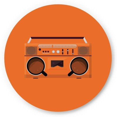 PosterGuy Coffee Boom Box Minimalist Illustration Fridge Magnet