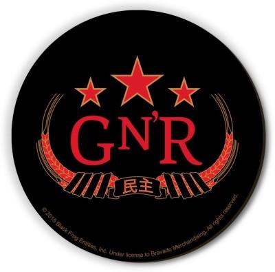 Bravado Guns N Roses Red Logo Fridge Magnet, Door Magnet